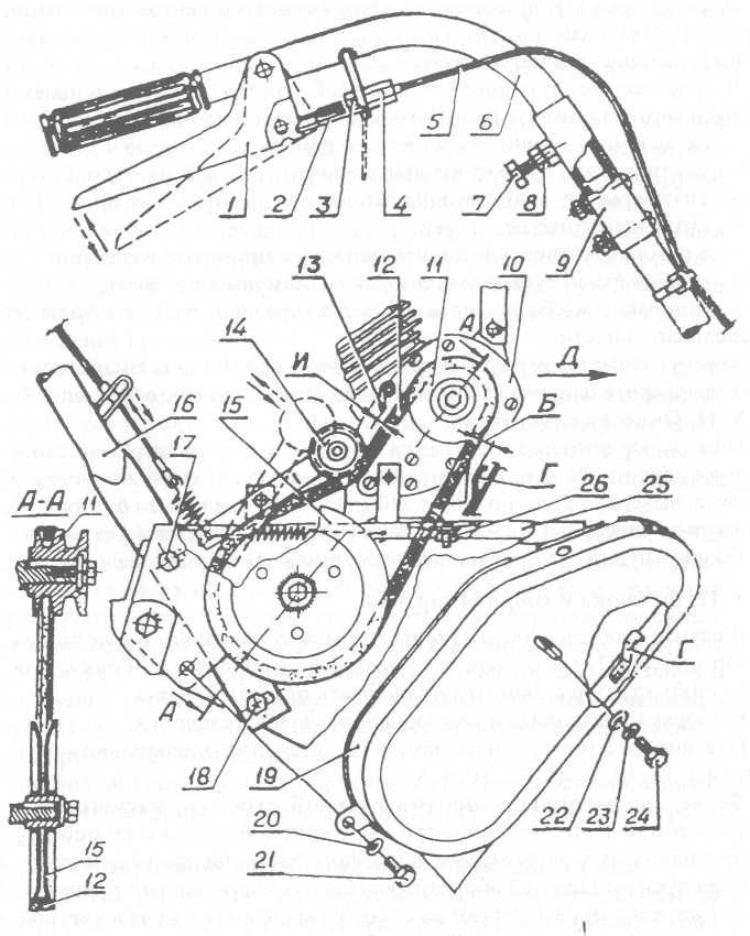 Схема редуктора мотоблока нева фото 654